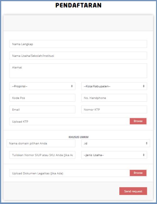 Langkah Cara Membuat Website Mudah Dan Gratis 3