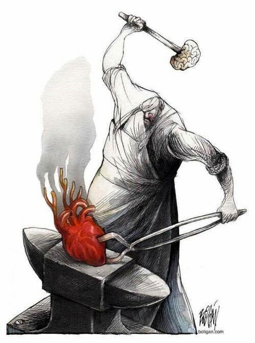 Ilustrasi Yang Menggambarkan Hati Manusia Saat Ini 1ok