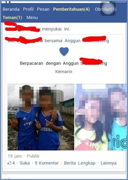 Status Facebook Anak Sd Pacaran 3