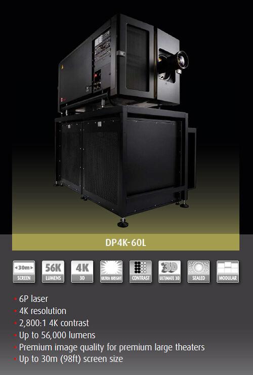 Spesifikasi Dp4k 60l