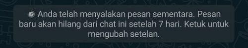 Pesan Sementara Whatsapp 3 7b2f3