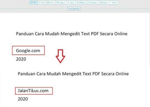 5 Cara Mengedit File Pdf Offline Dan Online Update 2020 Jalantikus Com