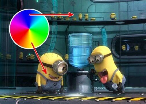 Warna Kuning Karakter Kartun 54aab