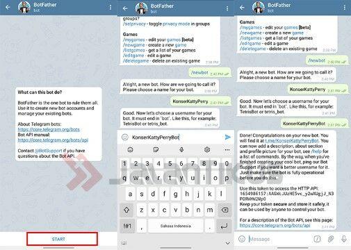 Cara Membuat Bot Telegram 86d20