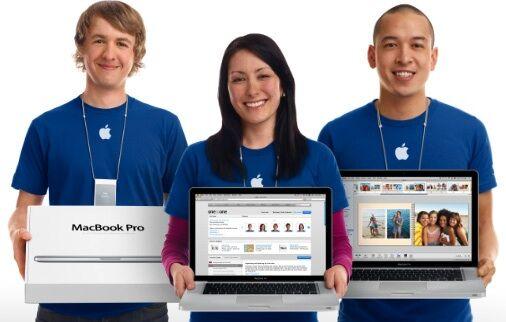 Karyawan Apple Pake Iphone 1