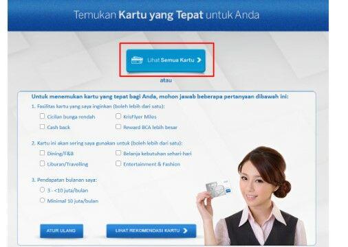 Cara Bikin Kartu Kredit Bca 91256