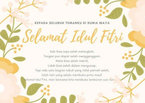 Ucapan Idul Fitri Taqobalallahu 124f8