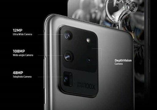 Kamera Samsung Galaxy S20 Ultra C5680