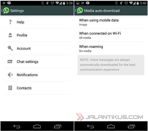 Cara Membuat WhatsApp Tidak Auto Download 1