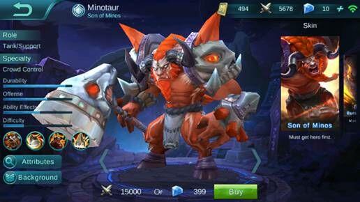 Minotaur 71288