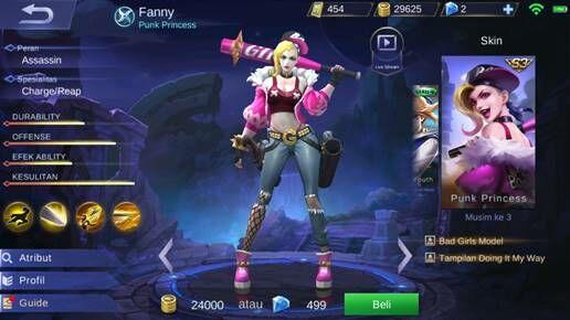 Fanny A34db