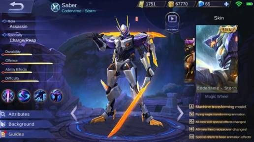 Saber D8941