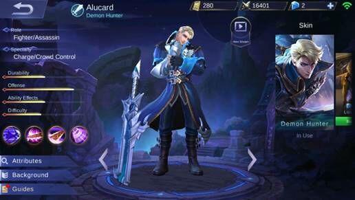 Alucard 7640a