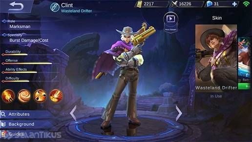 Clint F60af