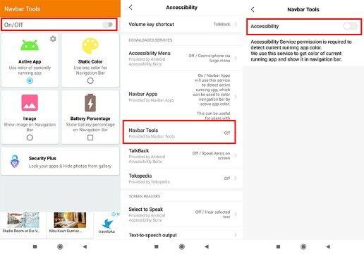 Cara Mengubah Warna Navigasi Bar Android Langkah Tiga Custom 1a45b