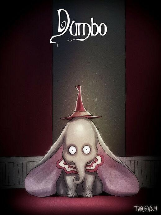 Poster Film Horror Disney 10