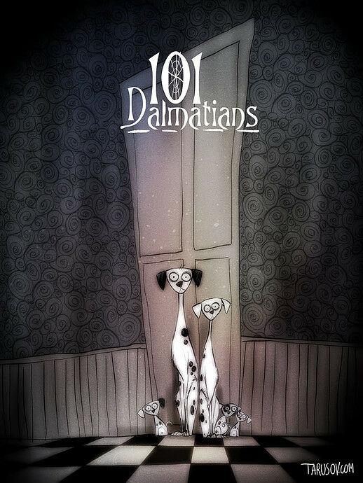 Poster Film Horror Disney 2