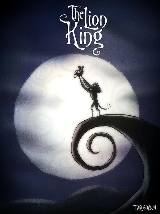 Poster Film Horror Disney 3