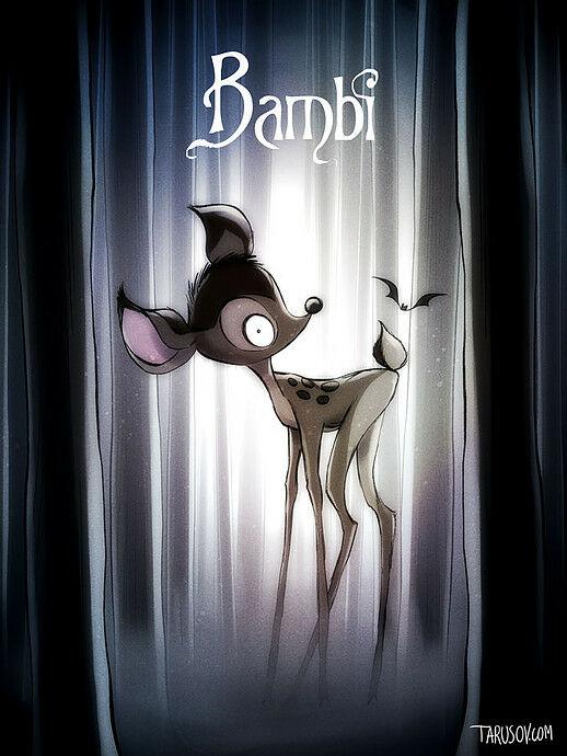 Poster Film Horror Disney 4