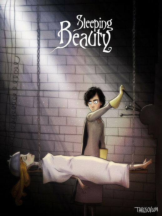 Poster Film Horror Disney 7
