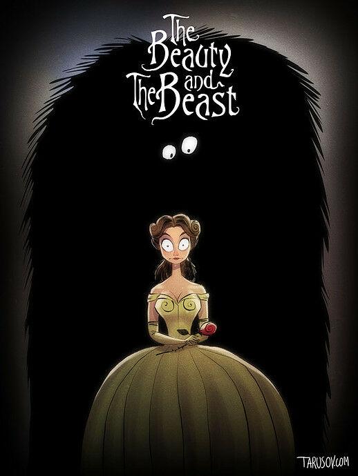 Poster Film Horror Disney 8