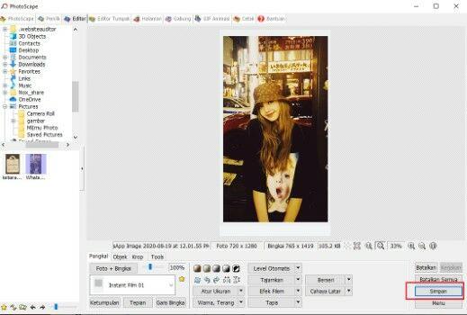 44ukuran Foto Polaroid F8610
