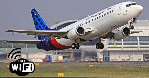 Internetan Di Pesawat Sriwijaya 09711