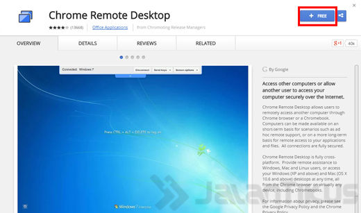 Cara Remote Android 3