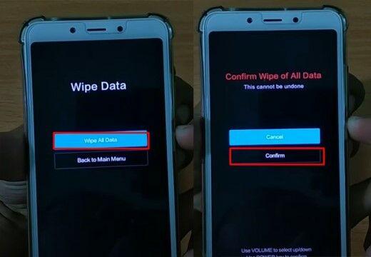 Cara Reset Hp Xiaomi Dengan Tombol Power Custom 81fc2