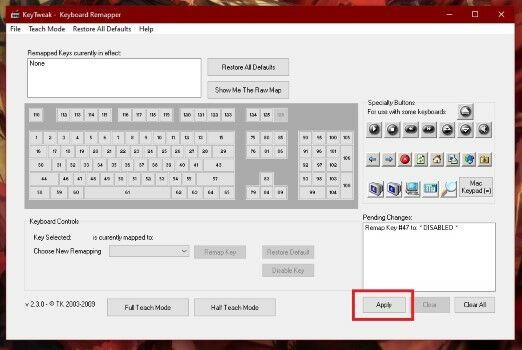 Cara Menonaktifkan Salah Satu Tombol Keyboard Di Laptop2 Custom 135f6