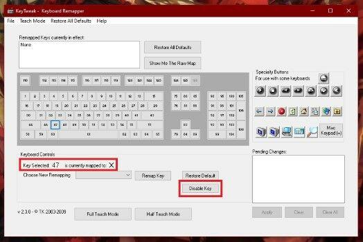 Cara Menonaktifkan Salah Satu Tombol Keyboard Di Laptop1 Custom 79929
