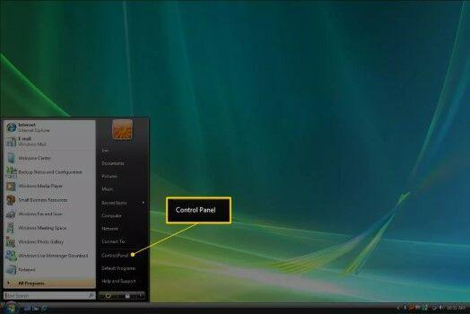 Cara Mematikan Firewall Pada Windows Vista Buka Control Panel 16587