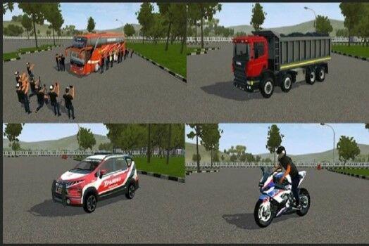 Download Mod Bussid Bus Truck Mobil Motor 2021 Jalantikus
