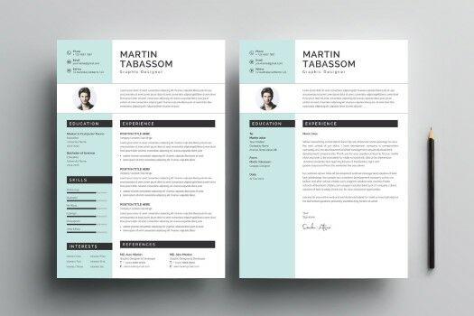 Modern CV Design Templates 2 Custom 7ee1c
