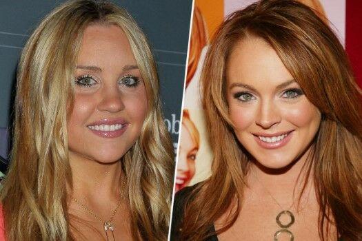 Sel2 Lindsay Lohan Amanda Bynes Custom 1 45d3c