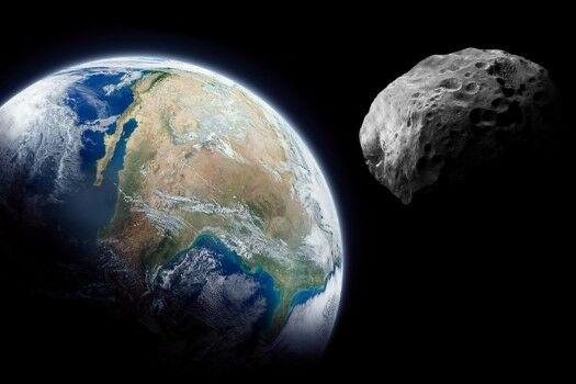 Asteroid Yang Pernah Menabrak Bumi 41102