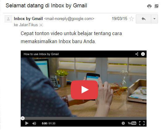 Google Inbox Email2