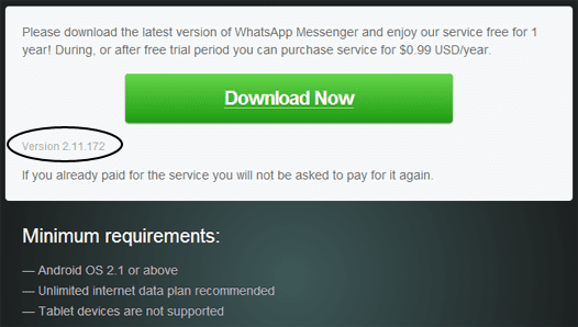 Update Whatsapp Dari Website Dapat Versi Lebih Baru1
