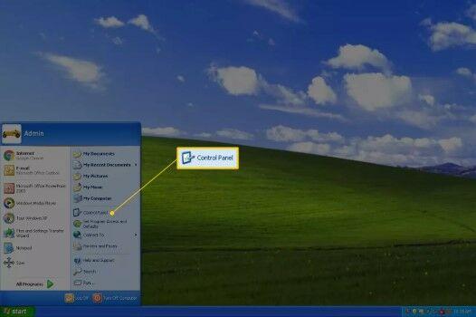 Cara Mematikan Firewall Di Windows XP Masuk Ke Control Panel Ca128