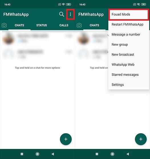 Aplikasi WhatsApp Transparan Cara 1 C10e1