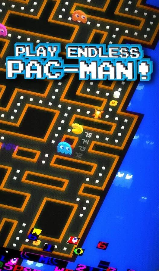 Games Pac Man 256 Terbaru