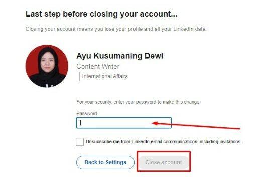 Cara Hapus Akun Linkedin Permanen 5c194