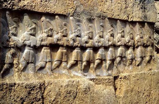 Relief Kuno Borobudur Ee188