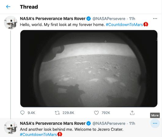 Perseverance NASA 3f328