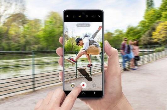 Samsung Galaxy A71 Kamera 610c2
