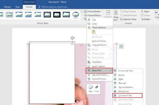 5cara Membuat Polaroid Di Microsoft Word 1a08f