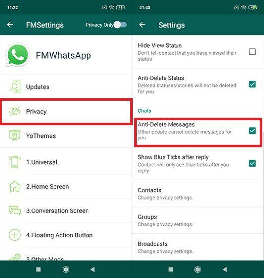Download FMWhatsApp Anti Delete F2c74