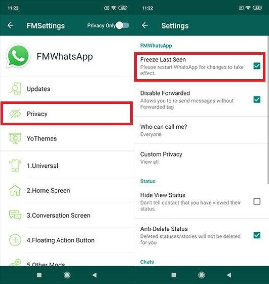 Download FMWhatsApp Last Seen 0a7b0