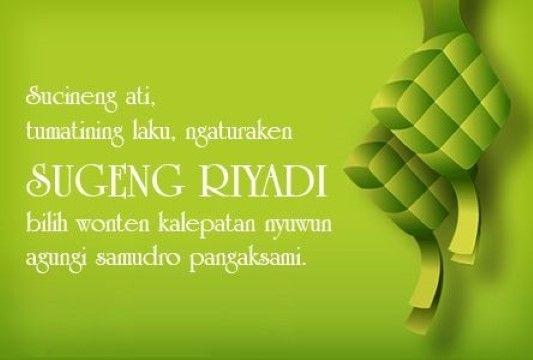 Ucapan Idul Fitri Bahasa Jawa 36c5b
