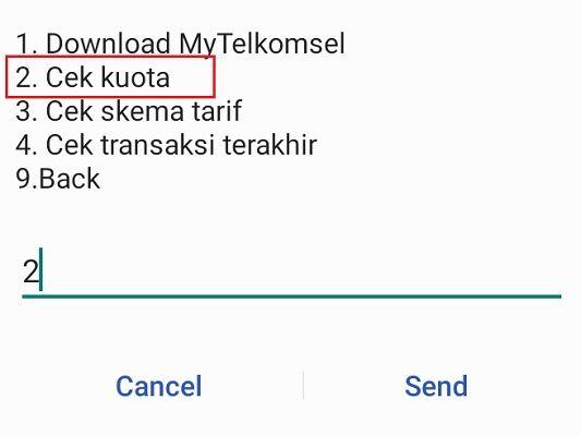 4 d58b4 - 3 Cara Mudah Cek Kuota Telkomsel